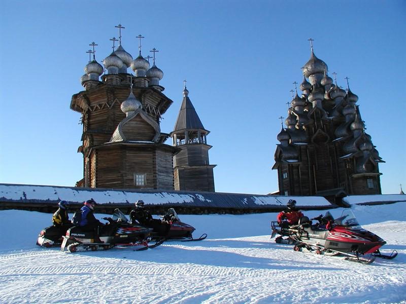 Новый Год в Карелии, Петрозаводск
