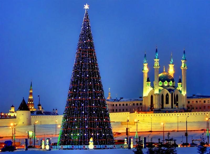 Новый Год в Казани, Татарстан