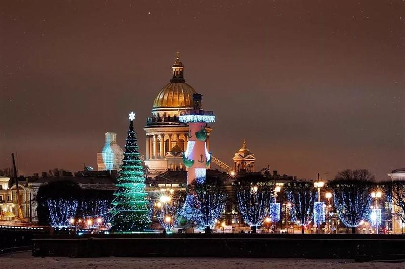 Новый Год в Санкт-Петерурге